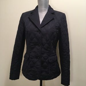 Brooks Brothers Navy quilted jacket